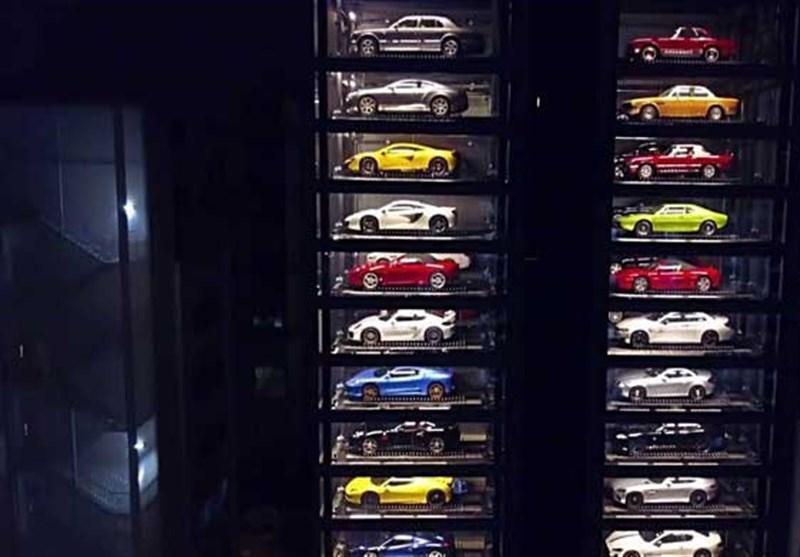 نمایشگاه اتومبیل عجیب در سنگاپور
