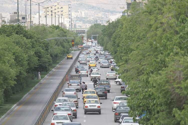 گره کور مهر بر ترافیک اصفهان