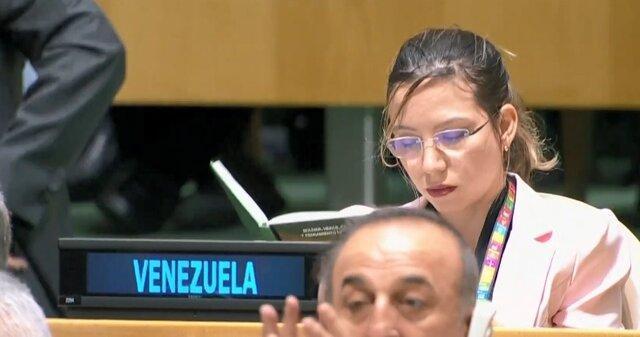 نماینده ونزوئلا مطالعه را به سخنرانی ترامپ ترجیح داد