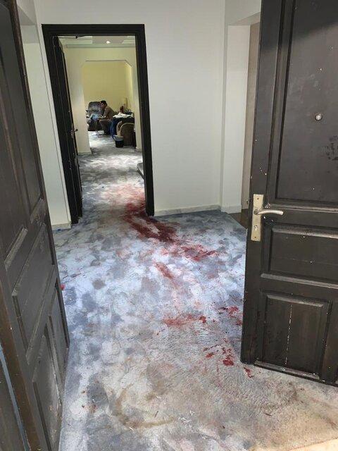 تصاویر محل قتل محافظ ملک سلمان منتشر شد