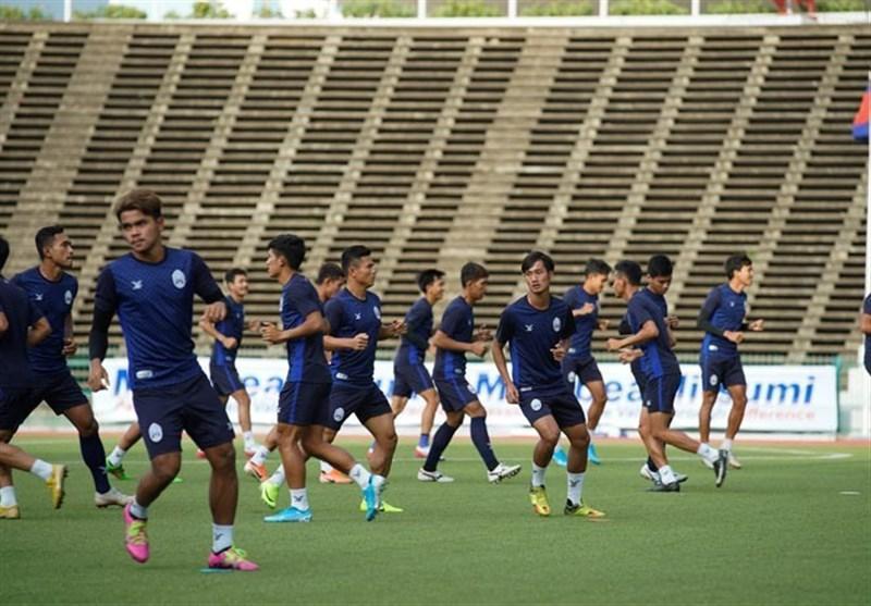 ستاره تیم ملی کامبوج دیدار با ایران را از دست داد