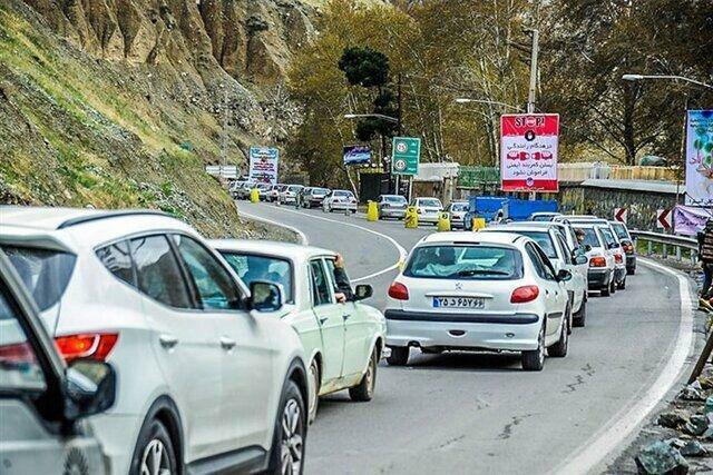 ترافیک نیمه سنگین در هراز