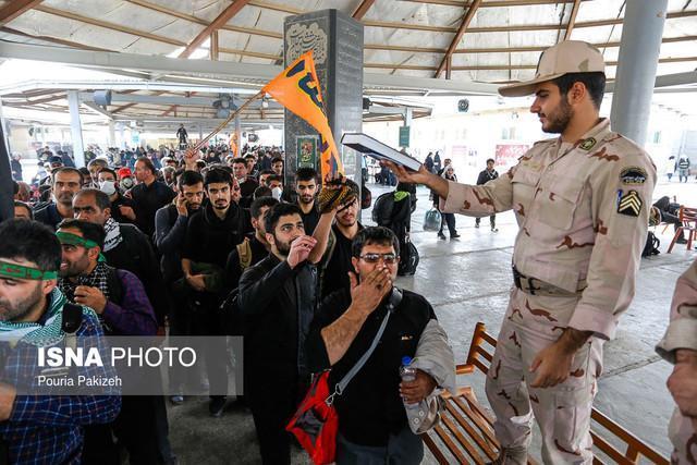 تردد در مهران نزدیک مرز 2 میلیون زائر