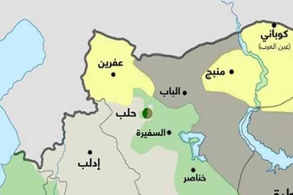 اخباری درباره توافق قسد با روسیه برای تحویل کوبانی و منبج به دمشق