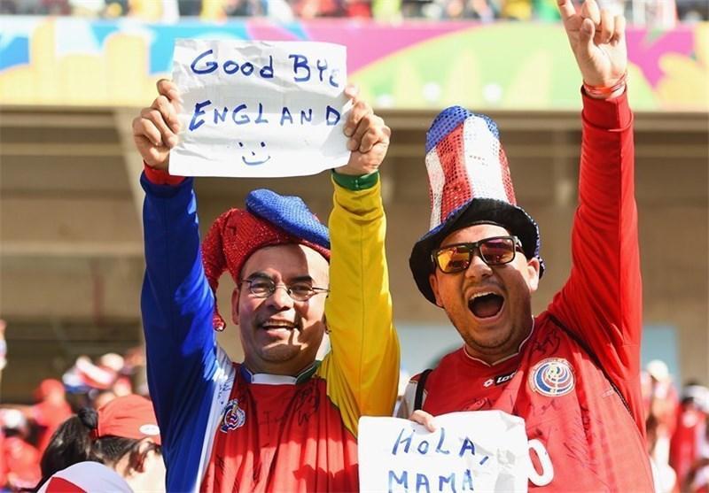 طعنه هواداران کاستاریکا به سه شیر