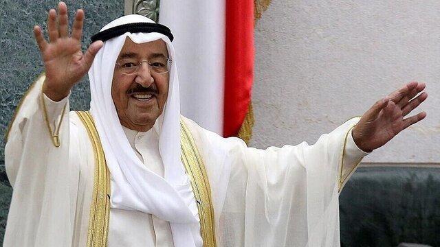 نخستین حضور رسانه ای امیر کویت پس از بازگشت از سفر درمانی به آمریکا