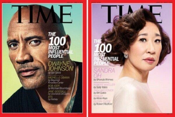 100 چهره تاثیرگذار 2019 مجله تایم معرفی شدند، هنرمندان فهرست