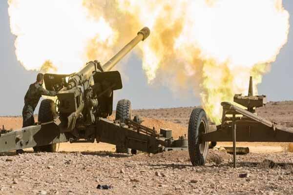 نبرد سنگین ارتش سوریه با ارتش ترکیه در شمال حسکه