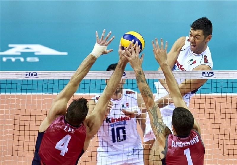 آمریکا در یک بازی پراشتباه مغلوب ایتالیا شد