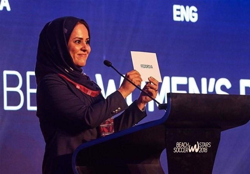 شهریاری ناظر برگزاری ملاقات فینال جام جهانی فوتبال ساحلی شد