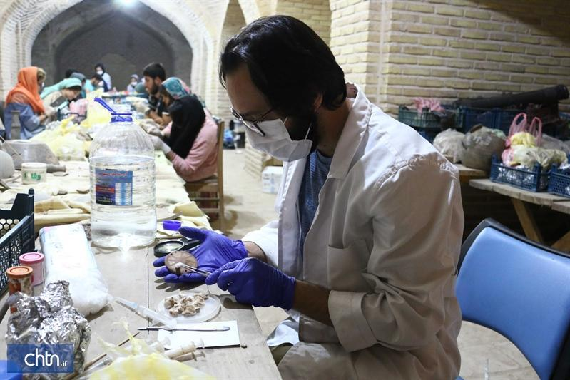کشف 35 مهر استوانه ای آشوری در سگزآباد قزوین
