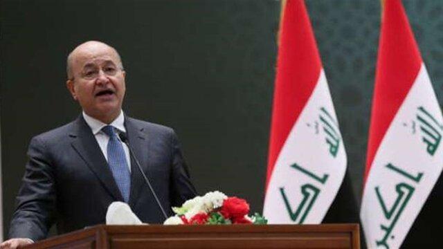 برهم صالح: اتفاقات آدینه بغداد تجاوز جنایت آمیز مسلحانه بود