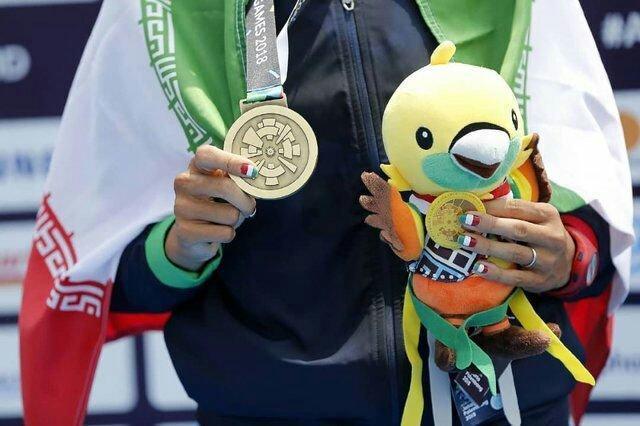 نتایج کاروان ایران در نهمین روز بازی های آسیایی2018، 3 طلا، یک نقره و یک برنز برای ایران