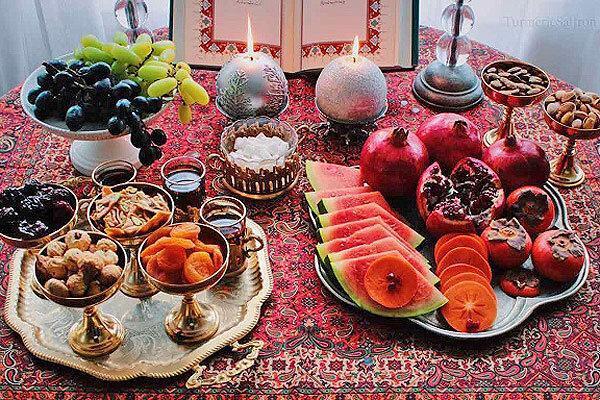 میوه شب یلدا تامین است ، انار و هندوانه گران نمی گردد