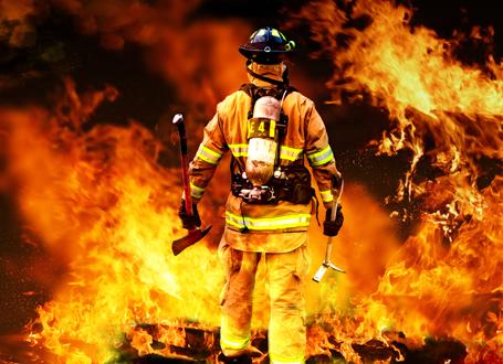 نجات 3 نفر توسط آتش نشانان همدانی