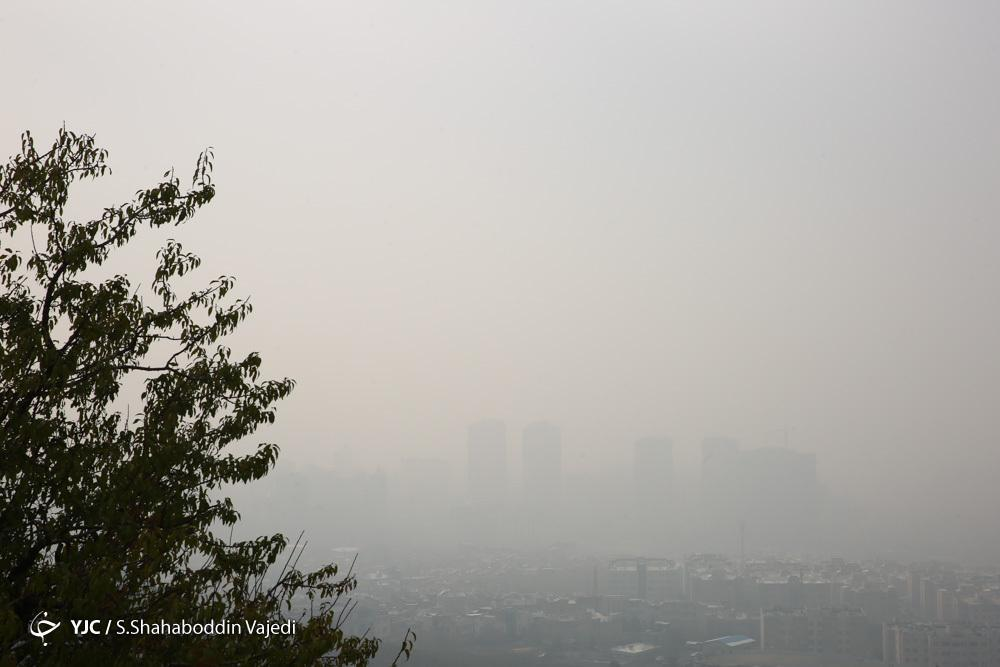 هوای تهران در 29 آذر؛ ناسالم برای گروه های حساس