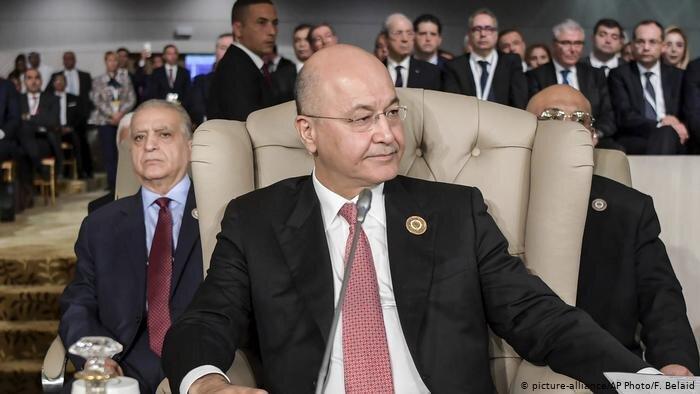 رئیس جمهور عراق تهدید کرد