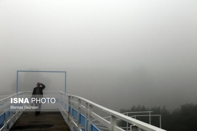 زمستان در مه به خوزستان می آید