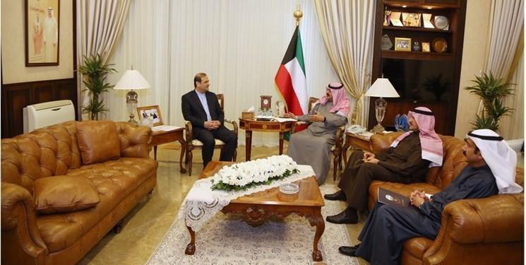 در ملاقات سفیر ایران مطرح شد؛ تأکید کویت بر احترام به حاکمیت ایران