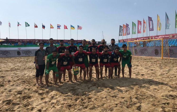 تیم فوتبال ساحلی گیلان در جمع برترین های فوتبال ساحلی دنیا