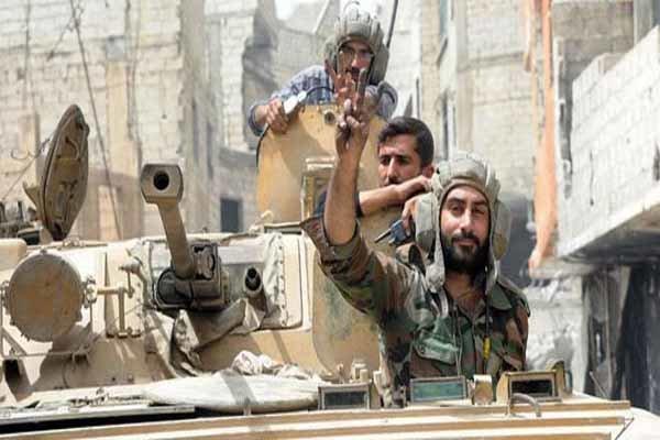 تسلط نیروهای مقاومت سوری بر مناطق جدیدی در حومه ادلب