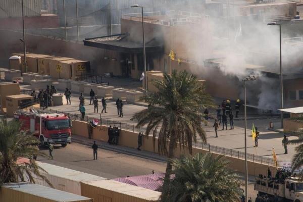 شبکه الفرات از حمله به منطقه سبز بغداد خبر داد