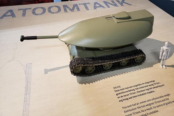 پروژه نظامی کرایسلر؛ یک تانک متفاوت با ظاهری عجیب!