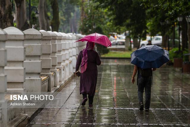 بارش شدید باران در بیشتر نقاط خراسان رضوی