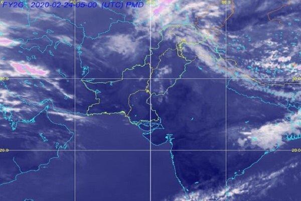 پیش بینی ماهواره ها از کاهش دما در نیمه شمالی و شرقی کشور
