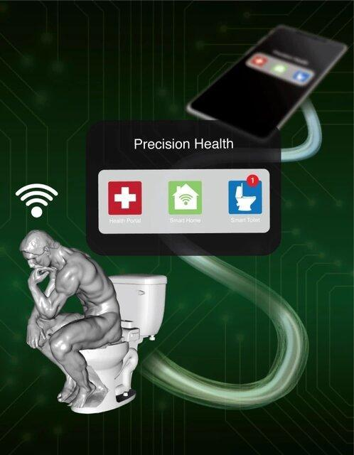 توالت هوشمندی که علائم بیماری را اسکن می نماید