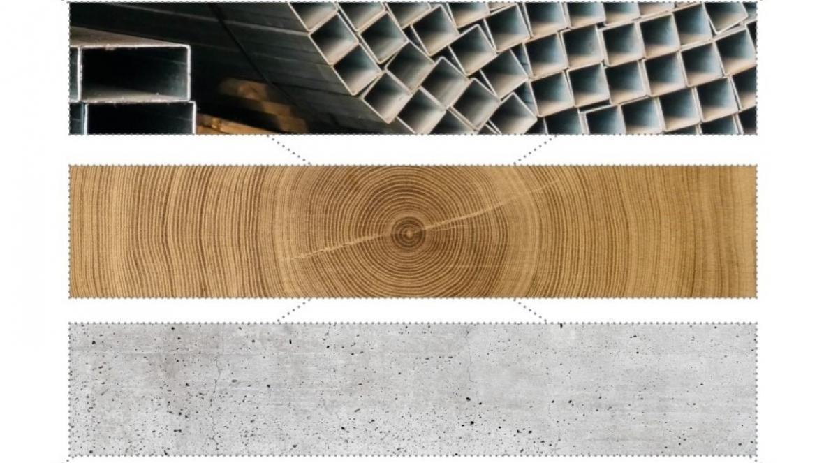 ساختمان سازی سبز و نقش بتن، فولاد و چوب برای تحقق آن!