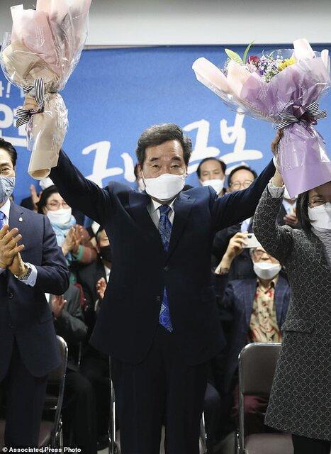 حزب حاکم کره جنوبی در انتخابات پیروز شد
