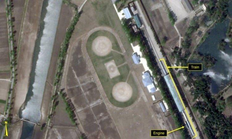 قطار کیم جونگ اون در تفرجگاهی در کره شمالی رصد شد