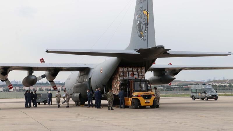 دومین محموله کمک های کرونایی ترکیه به آمریکا ارسال شد