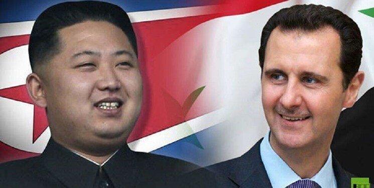 نامه بشار اسد به رهبر کره شمالی