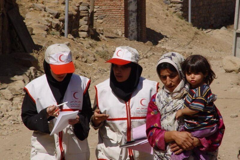 خبرنگاران 55 درصد داوطلبان هلال احمر یزد زن هستند
