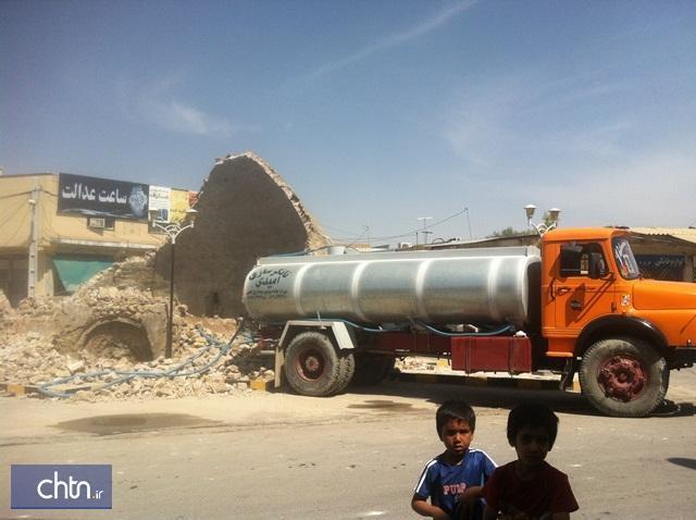 آب انبار شیخ در شهرستان خنج بازسازی می گردد