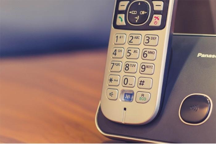 تنظیمات کارخانه تلفن بیسیم پاناسونیک چگونه است؟