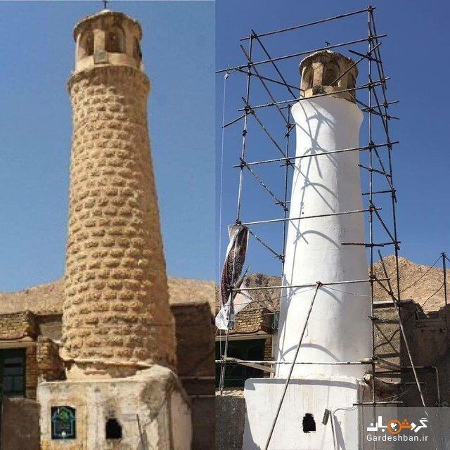 پاسخ میراث فرهنگی به انتقادها از بازسازی مسجد پامنار مهدیشهر