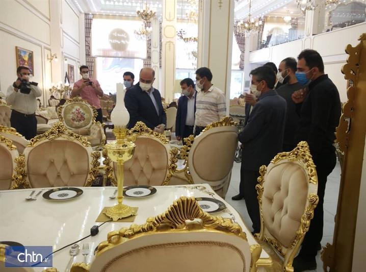 فروشگاه بانک مبل در ملایر افتتاح شد