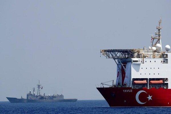 ترکیه در دریای مدیترانه رزمایش نظامی جدید برگزار می نماید
