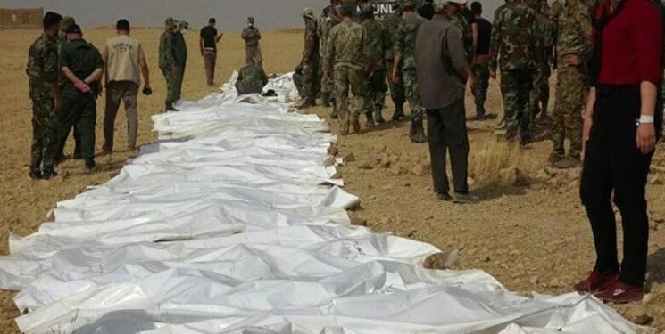 کشف 2 گور دسته جمعی سربازان سوری قربانی داعش