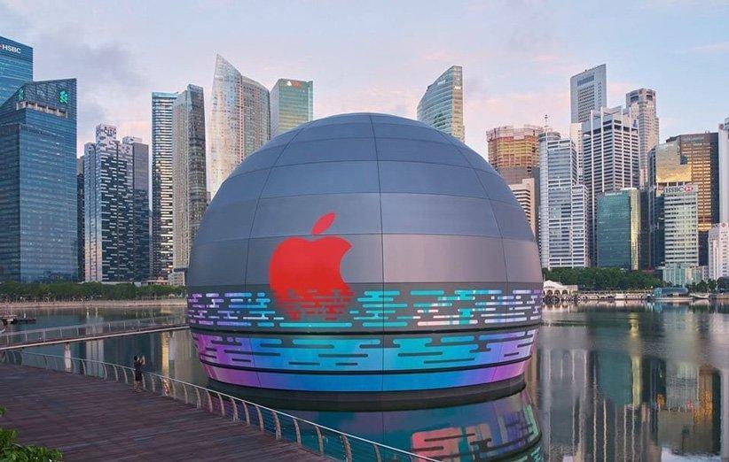 اولین اپل استور شناور به زودی در سنگاپور افتتاح می شود