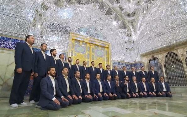رونمایی از اثر جدید گروه محمد رسول الله (ص)