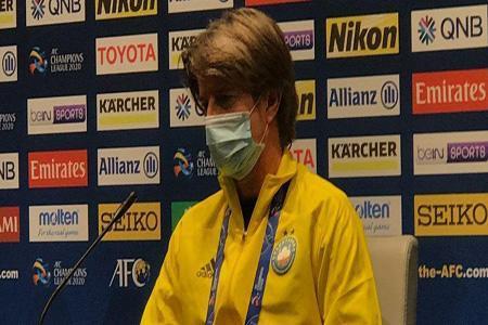مربی پاختاکور: به بازی با تیم های ایرانی عادت نموده ایم