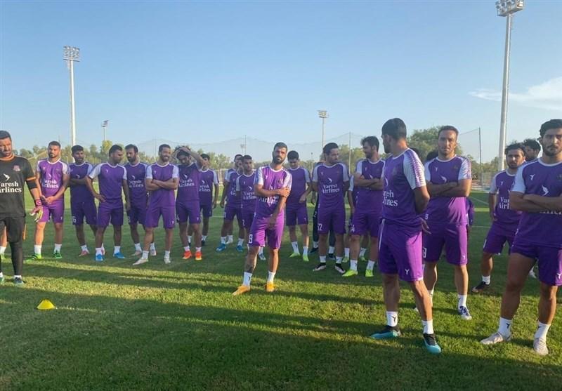 نساجی بعد از حضور در ایفمارک به بازیکنان پول می دهد، شاگردان فاضلی به مصاف طرفدار می فرایند