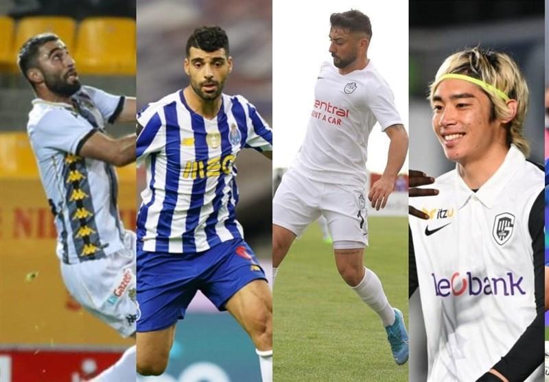 طارمی، قلی زاده و رضایی در میان برترین لژیونرهای هفته فوتبال آسیا