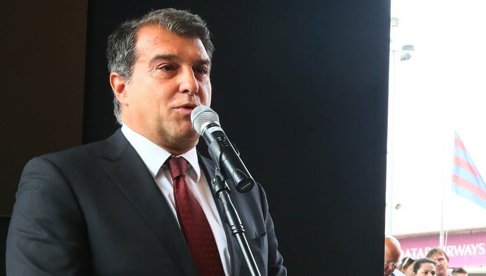 اعلام نامزدی خوان لاپورتا برای ریاست بارسا