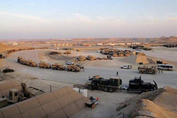 تحرکات نظامیان آمریکایی در پایگاه عین الاسد در غرب عراق