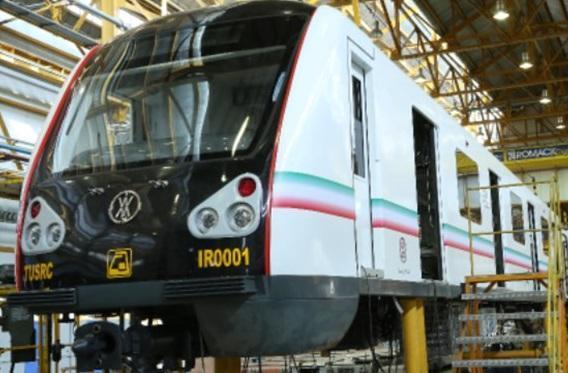 رونمایی از نخستین نمونه قطار ملی مترو طی هفته آینده